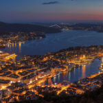 View from Mount Floyen in Bergen