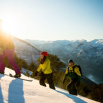 Snowshoe hike at the Aurland Mountain with Flaam Guide Service - Foto_Sverre_Hjørnevik