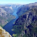 View from Bakkanosi Gudvangen - Jannicke Andersen