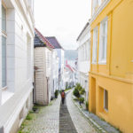 Walking in the streets of Bergen