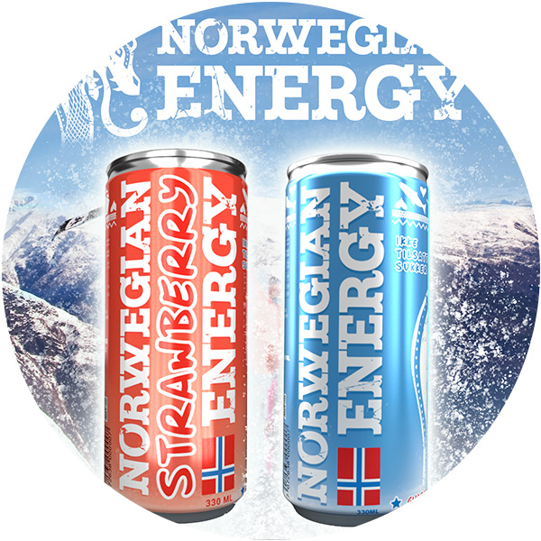 Norwegian Energy - a healty beverage